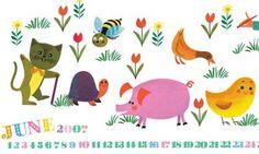print & pattern: ILLUSTRATION - alain gree wallpaper