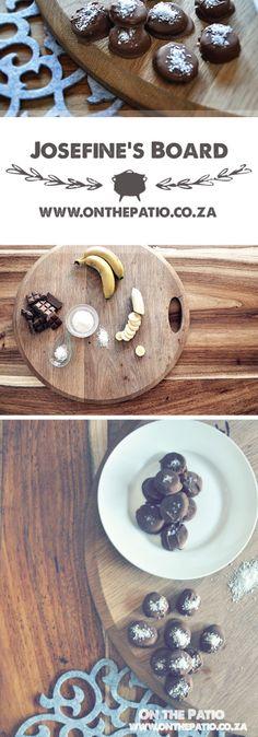Melted Chocolate, Frozen Banana, Coconut Flakes, Sea Salt, Chocolate Recipes, Bananas, Chocolates, Freezer, Peanut Butter