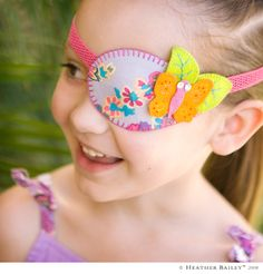 Eye Patch Patterns for Glasses | How to Make an Eye Patch