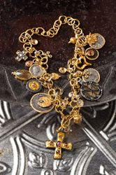 """""""Gold Rush"""" Hits the Summer Of Color- Karen Mefli Collection #jewelry #summerofcolor"""