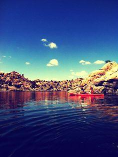 Watson Lake, Prescott, AZ / kayaking
