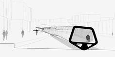 Infografías para el Puente Pasarela de Río Tíber por #Dika.#estudio #studio #proyecto #project #roma #italia #diseño #design #graphic #gráfico #fotomontaje #photomontage #arquitectura #architecture #infografía #infographic #infoarquitectura #infoarchitecture #modelado #modeling  #maqueta #model #urbanismo #urban #pasarela #walkway #puente #bridge #río #river #serpiente #snake