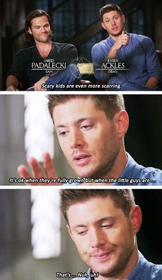 [gifset] SPN Retrospective with Jensen and Jared