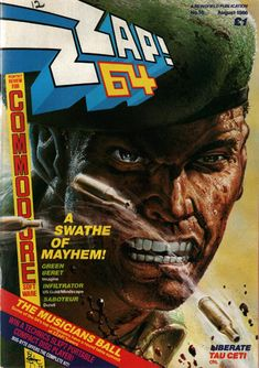 Cover of Zzap!64 - Issue #16 Commodore 64 Mag.