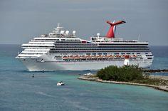 Carnival Glory in Nassau Bahamas