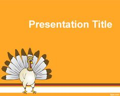 Free Thanksgiving PowerPoint Template Is A Funny But Nice For Power Point Presentations To Celebrate Day