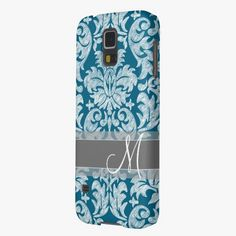 It's cool! This Teal and White Chalkboard Damask Pattern Cases For Galaxy S5 is completely customizable and ready to be personalized or purchased as is. Click and check it out!