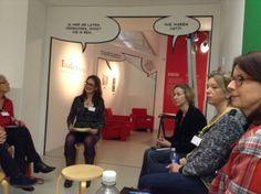 Workshop met Diet Groothuis. Symposium 'De kunst van het schrijven', Centraal Museum, Utrecht, 29-11-2013.