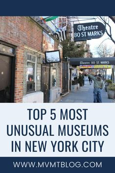 Looking to expand your NYC museum exploration beyond the MoMA and the MET? Check out our list of the top 5 most unusual museums in NYC! Student Travel, Group Travel, Travel Usa, Family Travel, Magical Vacations Travel, Vacation Trips, Travel Advice, Travel Guides, Travel Tips