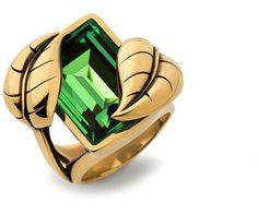 Leaves Ring, Atelier Swarovski by Sandy Powell - Jewelry - Swarovski Online Shop