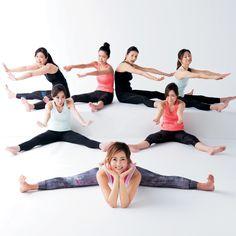 やせる!冷え症が治る!歪みが取れる! 開脚すると世界が変わる!| BEAUTY CLIP| 美ST ONLINE[be-story.jp] Yoga Fitness, Fitness Tips, Fitness Motivation, Health Diet, Health Fitness, Body Stretches, Beautiful Yoga, Excercise, Body Care