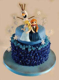 Frozen! Frozen, Birthday Cake, Cakes, Desserts, Food, Tailgate Desserts, Birthday Cakes, Deserts, Food Cakes