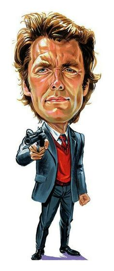 Dirty Harry 'Make my day Punk'.