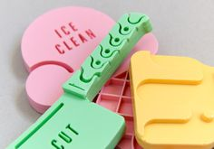 Daniel Ting Chong cool soap shapes in collaboration with Nature's Skin Food.