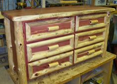 Part Of An Order Heading To Oklahoma Osage Creek Log Furniture