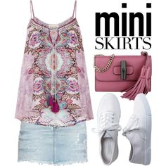 Mini Me: Cute Skirts 1279 by boxthoughts on Polyvore featuring Monsoon, Yves Saint Laurent, Aéropostale, Gucci and MINISKIRT