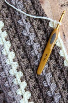Granny Stripes crochet afghan    http://italiandishknits.files.wordpress.com/2012/01/img_1501.jpg: