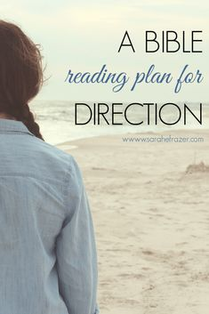 Do you struggle to trust where God is leading and in His perfect peace? Use this Bible reading plan for direction to help you seek the Lord for wisdom and to follow God where He leads. || Sarah E. Frazer
