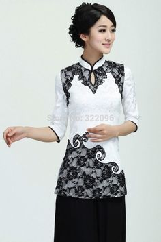 Evening Wear Blouses Model Blouse Batik Evening Blouses | Blouses ...