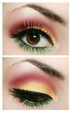 I have everything for this. But what do u wear with this eye look?