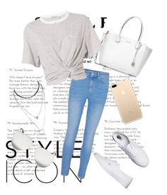 """""""Summer Outfit❤☉"""" by efisamioti12 on Polyvore featuring Vans, Michael Kors, T By Alexander Wang and Victoria Beckham"""
