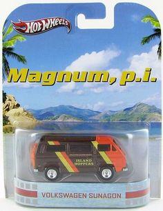 Hot Wheels Retro Entertainment 2013 Magnum P.I. Volkswagen Sunagon