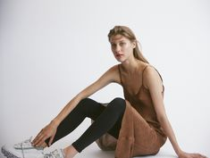 We designed considered silk pieces for women of style and purpose. Elevate your wardrobe with quality essentials. Shop soft suiting and silk slip dresses. Dress With Sneakers, Ribbed Sweater, Office Outfits, Photo Galleries, Camisole Top, Glamour, Pumps, Silk, Tank Tops