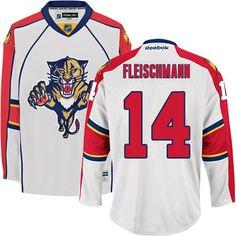 Florida Panthers 14 Tomas Fleischmann Road Jersey - White [Florida Panthers Hockey Jerseys 016] - $50.95 : Cheap Hockey Jerseys