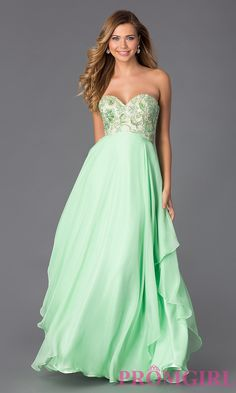 Image of Alyce Empire Waist Prom Dress AL-35678 Style: AL-35678 Front Image