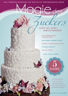 The flavors and colors of fall make for some of the most striking wedding cake designs. Replicate one of these fall wedding cakes you and your guests won't forget. Butterfly Wedding Cake, Wedding Cake Fresh Flowers, Pretty Wedding Cakes, Luxury Wedding Cake, Floral Wedding Cakes, Fall Wedding Cakes, Floral Cake, Beautiful Wedding Cakes, Wedding Cake Designs