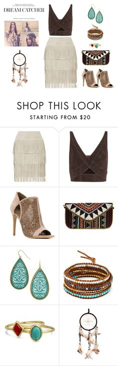 """Natural Dreams"" by sandra-moreno-2 on Polyvore featuring Illia, Tamara Mellon, Salvatore Ferragamo, Chan Luu, Bling Jewelry, women's clothing, women, female, woman and misses"