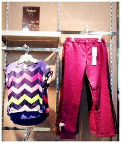 fa2192eb97eb #AnnieSez STYLE TIP: Pair a pattern with a bright solid. Annie sez