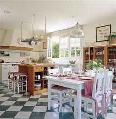 Una cocina para toda la familia · ElMueble.com ·