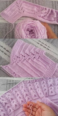 Diy Crafts - DIY & crafts projects, contents and more - Diy Crafts I Propose To Tie A Diy Crafts 820499625845796899 P Easy Knitting Patterns, Knitting For Kids, Lace Knitting, Knitting Designs, Baby Patterns, Knit Crochet, Toddler Cardigan, Baby Cardigan, Knit Baby Dress