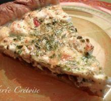 Recette - Tarte crétoise - Notée 5/5 par les internautes