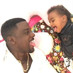 Lance Gross & His Daughter