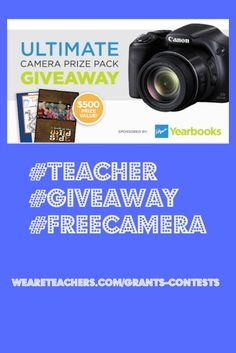 Enter to win a FREE camera and Yearbook prize pack. Enter To Win 50d792043