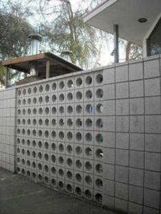 Inspiring Breeze Block Wall Fences Ideas #InspiringBreezeBlockWallFencesIdeas
