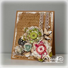 Handmade by Jenn using Papers and Petals from Etsy