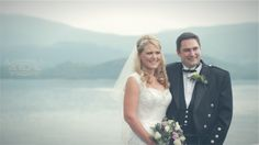 White Balloon Films / Wedding Videographer Scotland / Luss Church Wedding / The Cruin Wedding / Bride & Groom