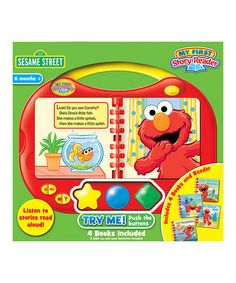 Look at this #zulilyfind! Sesame Street My First Story Reader Book Set by Sesame Street #zulilyfinds