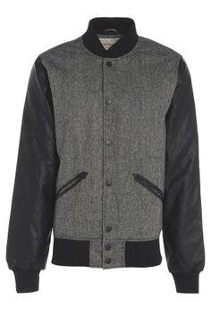 Mens Tweed Basket Ball Jacket £52 #Tweed #Casual #mensfashion #bravesoulcouk http://www.bravesoul.co.uk/shop/clothing/mens-tweed-basket-ball-jacket?colour=CHARCOAL