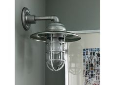 Barn Light Sconce - I want I Want I WANT!!!  http://www.barnlightelectric.com/wall-sconce-lighting/rustic-wall-sconces/barn-light-atomic-cast-guard-cgu-sconce