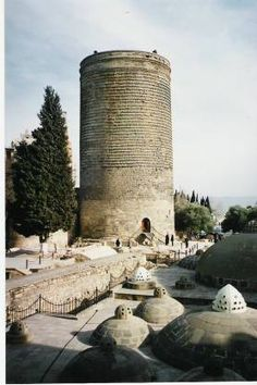 Maiden Tower - Baku - Do you think a maiden really jumped to her death from here?