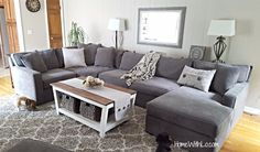 Radley sectional sofa from Macy's