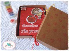 Livro de Receitas - Tia Fran Detalhe - Caixa