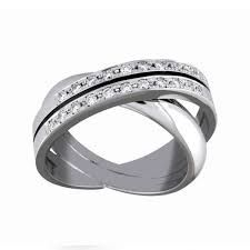Image result for diamond spiral ring