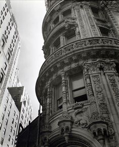 "bygoneamericana: ""Alwyn Court. Manhattan, 1938. By Berenice Abbott """
