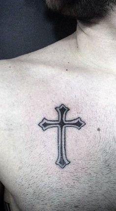 << Check out more Cross tattoos #tattoomenow #tattooideas #tattoodesigns #tattoos #cross #religious #christian Tattoo Quotes, Tattoo Designs, Cross Tattoos, Christian, Amazing, Check, Tattooed Guys, Tattoo Patterns, Christians