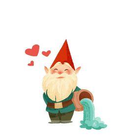 The World of David the Gnome / David Gnomo amico mio - interpretation/interpretazione by David The Gnome, Dibujos Cute, Gnome Garden, Illustrations, Cute Illustration, Clipart, Cute Drawings, Cute Art, Kawaii Anime